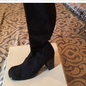 Guess black boots. Size 8